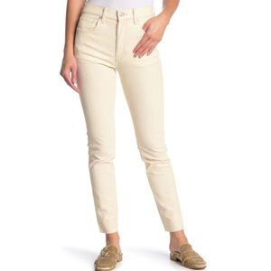 Free People Velveteen High Waist Skinny Pants